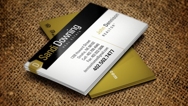 Sandi Downing business cards
