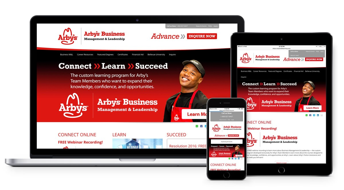 Arby's Corporate Portal
